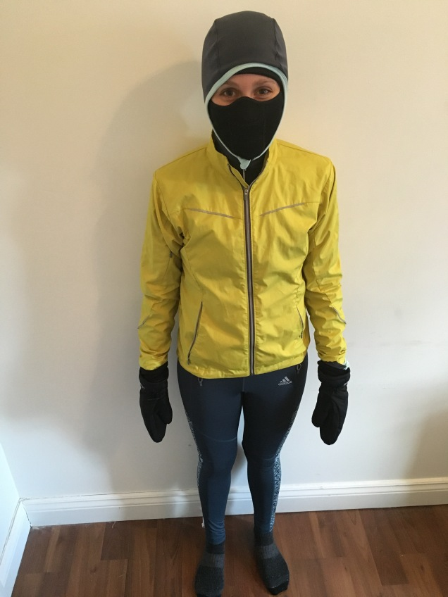 winter running clothing